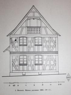 Les maisons européennes en colombages (une variante régionale de la charpente assemblée) utilisaient le contreventement diagonal avec beaucoup plus d'imagination que la majorité des grands constructeurs américains de timber frames modernes...