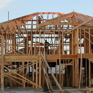 Structure complète d'une maison en 2x6